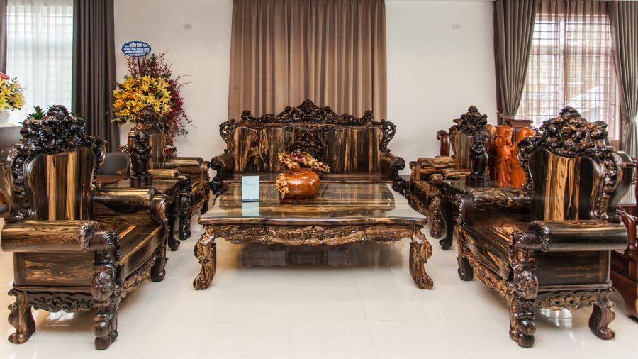 Nội thất bằng gỗ tự nhiên mang một vẻ đẹp thu hút khó cưỡng