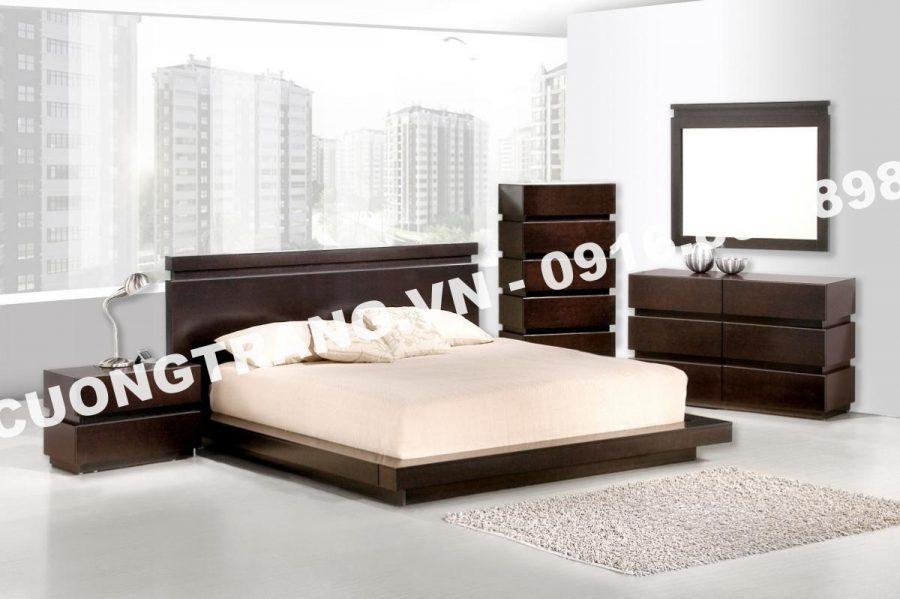 Giường ngủ mang phong cách hiện đại